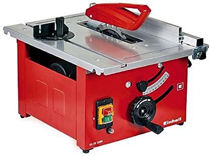 Einhell TC-TS 1200 Sierra de mesa - Máquinas de coser fijas (4800 RPM, 2,7 cm, 4,5 cm, 93,7 dB, 106,7 dB, 3 dB)