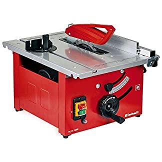 Einhell TC-TS 1200 Sierra de mesa – Máquinas de coser fijas (4800 RPM, 2,7 cm, 4,5 cm, 93,7 dB, 106,7 dB, 3 dB)