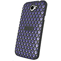 HTC HC C790 One X+ Honeycomb Hard shell Case schwarz/blau