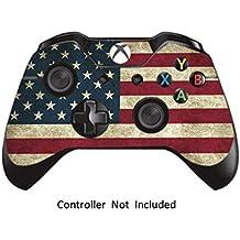GameXcel ®  Controlador Xbox Una piel - Xbox personalizada 1 mando a distancia de vinilo pegatinas - Modded Xbox One Accesorios cubren la etiqueta - Battle Torn Stripes [ Controlador no está incluido]