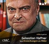 Anmerkungen zu Hitler. 4 CDs - Sebastian Haffner