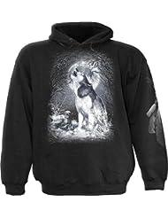 Spiral - Sweat-shirt à capuche -  Garçon Noir Noir