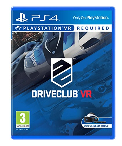 Drive Club Game PS4 (PSVR Required) lowest price