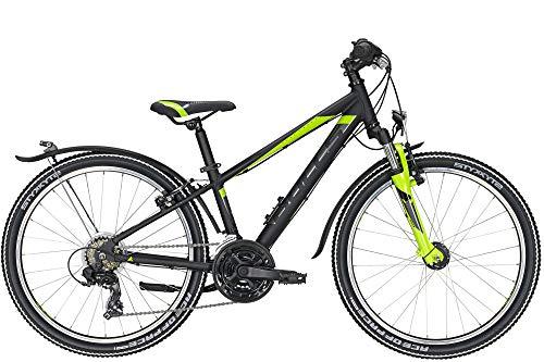 Federgabel Scheibenbremse Kinder Fahrrad Risikofrei Testen 21 Gang Shimano Schaltung BIKESTAR Alu Mountainbike Jugendfahrrad 24 Zoll ab 9-14 Jahre Hardtail