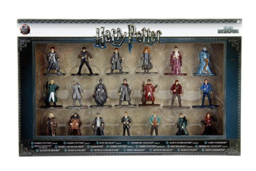 Jada- Nano MetalsFig Pack 20 Figuras Harry Potter, Multicolor (0801310844144) 5