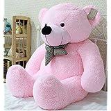 AVS Soft 3 Feet Teddy Bear With Neck Bow (91 Cm,Pink)