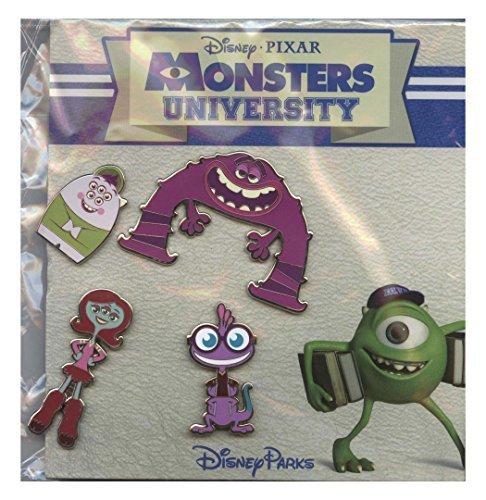 Disney Pin - WDW - Monsters University Booster Set - 102045 by Disney (Disney University Monsters Pins)