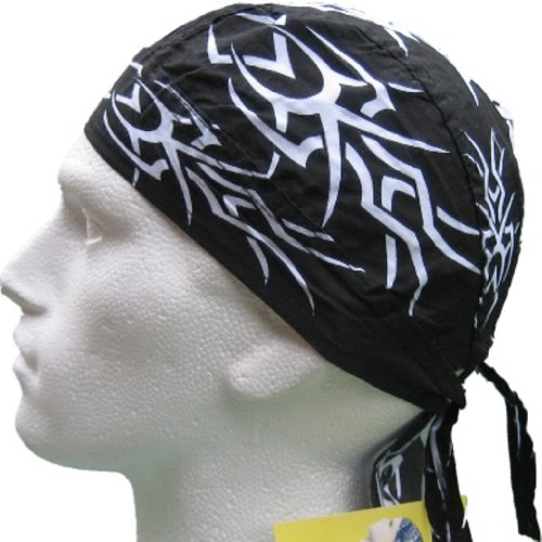 fitted-bandana-black-white-tribal