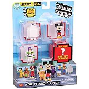 Disney Crossy Roads 71001 Mini Figures (Pack of 4)