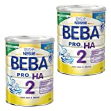 Nestlé BEBA PRO HA 2, Säugling Milch, Babynahrung, HA Nahrung, Folgemilch, 2 x 800 g, 12332784