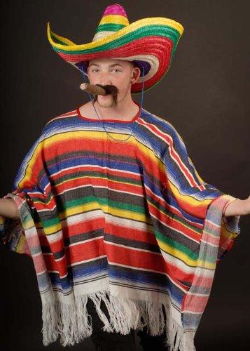 Mexikanischer Poncho Kostüm Kostüm