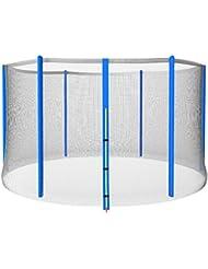 Physionics - Filet de sécurité pour trampoline – DIVERSES TAILLES AU CHOIX