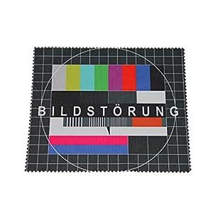 Brillenputztuch Putztuch Displayputztuch Bildstörung 17,5 x 14,5 cm Mikrofaser
