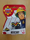 Sam El Bombero - Mini De Metal Serie - Quad Mercury
