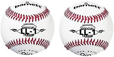 Barnett LL-1pelota de béisbol competición/Entrenamiento, 9pulgadas, color blanco, 2pieza