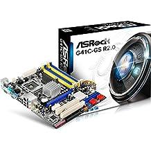 Asrock G41C-GS R2.0 Intel G41 Socket T (LGA 775) Micro ATX - Placa base (DIMM, DDR2-SDRAM, DDR3-SDRAM, Dual, 2GB, 4GB, Intel, Celeron, Celeron Dual-Core, Core 2 Duo, Core 2 Extreme, Core 2 Quad, Pentium Dual-Core)