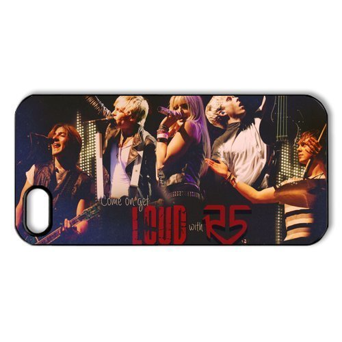 r5-loud-ross-lynch-hard-skin-for-for-samsung-galaxy-s5-phone-case-cover-1-pack-black-white-7-perfect