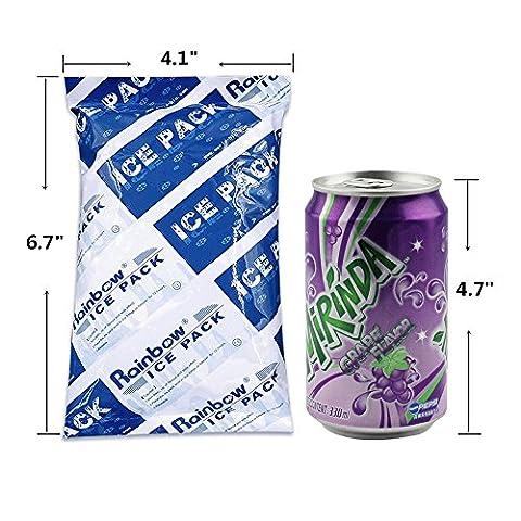 froid Lot flexibles réutilisables pour nourriture boissons garder au frais frais pour sacs à lunch