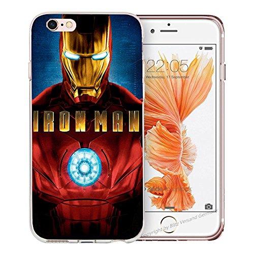 Handyhülle Helden Avengers kompatibel für Samsung Galaxy A5 2015 Reaktor Iron Man Schutz Hülle Case Bumper transparent M5