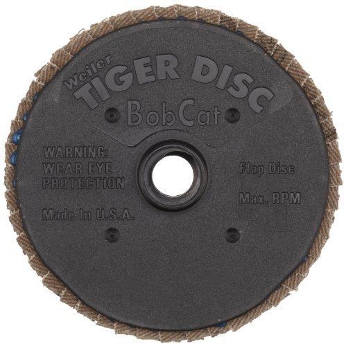 weiler-50904-bobcat-3-diameter-60-grit-zirconium-plastic-backing-type-29-specialty-abrasive-flap-min