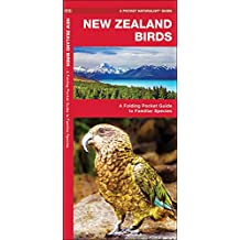 New Zealand Birds: A Folding Pocket Guide to Familiar Species (A Pocket Naturalist Guide)