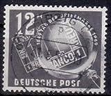 Briefmarken DDR 1949, Mi. Nr. 245, Tag der Briefmarke, Gestempelt
