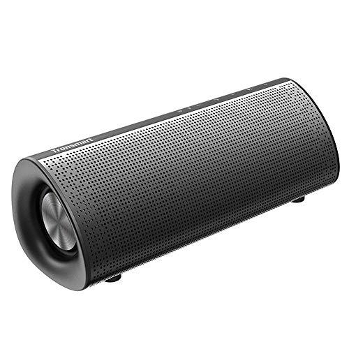 ZENWEN Bluetooth-Lautsprecher, TWS Soundbar/apt-X zerstörungsfreie tragbarer Lautsprecher Subwoofer Doppel Passive 20W drahtlosen Subwoofer Blu Etooth 4.2 Handy-Notebook-Computer kleine Stereo (Passiv Sound Bar)