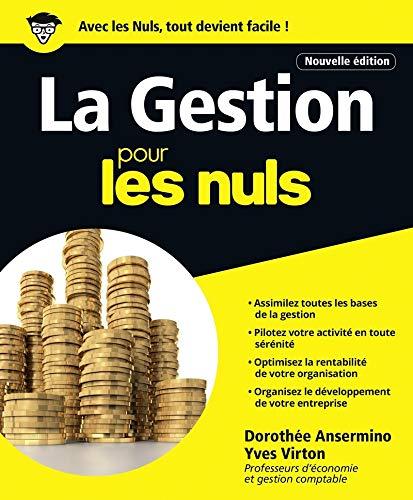La Gestion pour les Nuls grand format, 2e édition