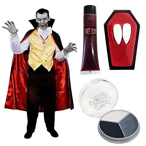Dracula Costume - Déguisement pour adulte avec ce costume de