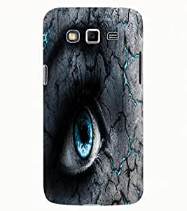 ColourCraft Scary Eyes Design Back Case Cover for SAMSUNG GALAXY GRAND 2 G7102 / G7106