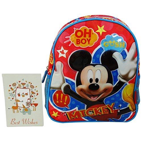 Disney Mickey Kids Sàc à Dos pour l'école pre-Scolaire Ecole Maternelle In