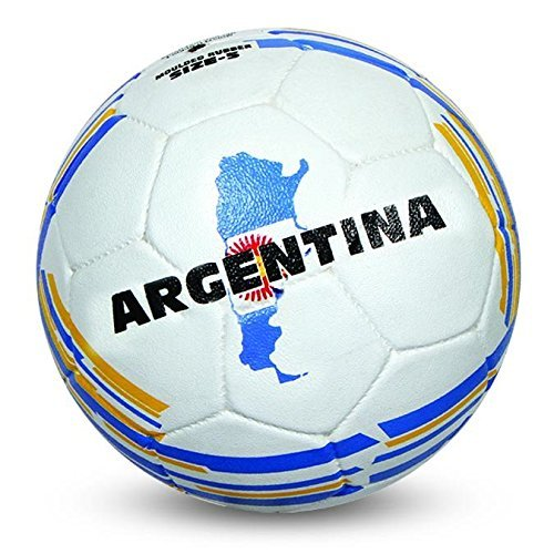 Nivia Argentina Rubber Football, Size 5 (White)  available at amazon for Rs.375