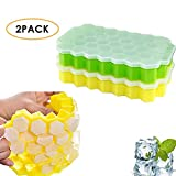 Best Ice Cube Trays With Covers - Pawaca Ice Cube Tray with Lid, 2 Pack Review