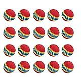 Sungpunet Practice Golf Balls, 20pcs, Foam, Rainbow Color, for indoor/outdoor Golf Practice