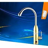Immediata calda acqua del rubinetto senza serbatoio rubinetto elettrico rubinetto della cucina dual calda e riscaldamento acqua fredda elettrico display istantaneo acqua di riscaldamento riscaldatore di acqua del LED Digital , 8