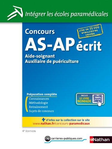 CONCOURS AS/AP ECRIT N14