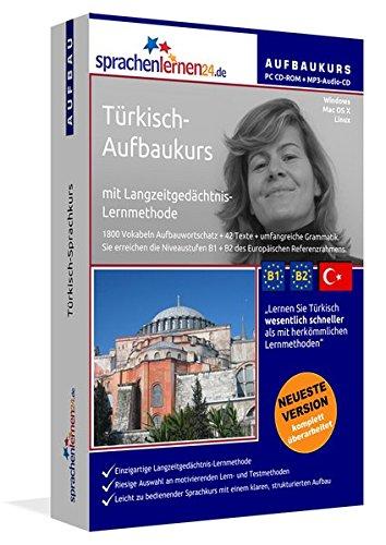 Türkisch-Aufbaukurs: Lernstufen B1+B2. Lernsoftware auf CD-ROM + MP3-Audio-CD für Windows/Linux/Mac OS X. Fließend Türkisch lernen für Fortgeschrittene mit Langzeitgedächtnis-Lernmethode