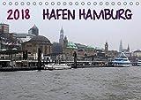 Hafen Hamburg 2018 (Tischkalender 2018 DIN A5 quer) Dieser erfolgreiche Kalender wurde dieses Jahr mit gleichen Bildern und aktualisiertem Kalendarium Hafen im Alltag (Monatskalender, 14 Seiten)