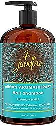Premium Argan Natural Aromatherapy Shampoo - 16 oz - Best Moisturizing
