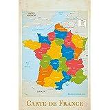 GB Eye Ltd, France, Map, Maxi Poster