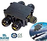 Sucre AUX® 24A 450V 5Wege IP68Wasserdicht Elektrisches Kabel Wire Connector Abzweigdose