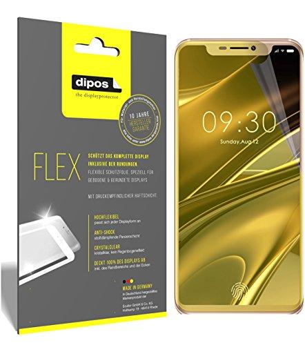 dipos I 3X Schutzfolie 100% passend für Doogee V Folie (Vollständige Bildschirmabdeckung) Bildschirmschutzfolie