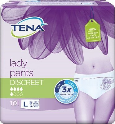 TENA LADY Pants Discreet L 6X10 St by SCA Hygiene Products Vertriebs GmbH