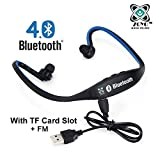 #4: Zoyo Sports Bluetooth Headset Headphones Compatible with Samsung, Motorola, Sony, Oneplus, HTC, Lenovo, Nokia, Asus, Lg, Coolpad, Xiaomi, Micromax and All Android Mobiles (With Micro Sd Card Slot and FM Radio) Bluetooth Neckband (Color May Very)