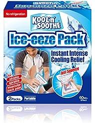 Kool n Soothe - Láminas de gel frío para adultos (2 unidades)
