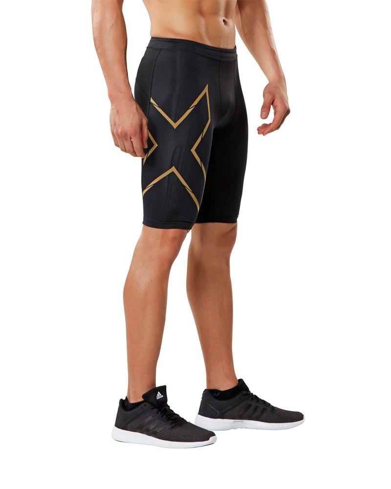 2XU Pantaloncini da Corsa da Uomo, a Compressione MCS