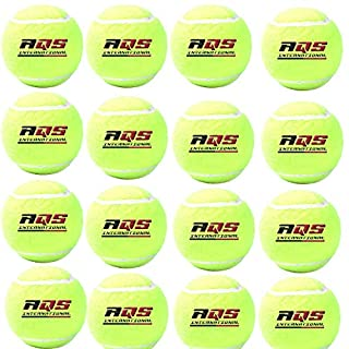 40 x AQS Tennis Balls Bright Green For Pets Puppy Play Dog Toys Bouncing Ball Indoor/Outdoor