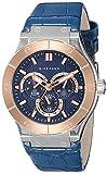 Giordano 1776-05 Blue Dial Analog Men's Watch (1776-05)