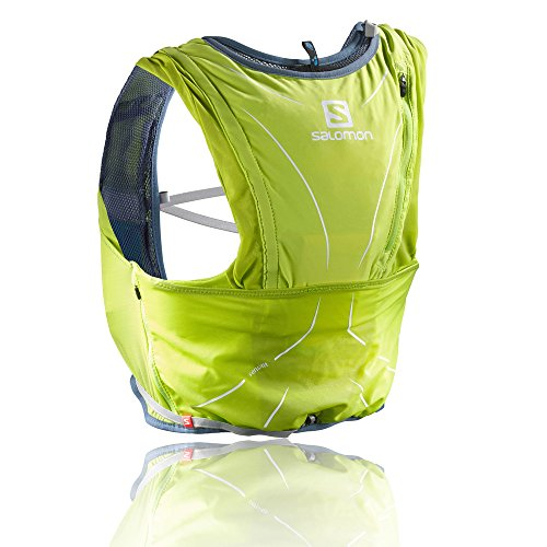 Imagen de salomon adv skin 12 , unisex adulto, verde lime punch , xl