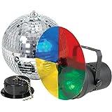 Beamz 151725 - Disco light set 3 con bola de espejos de 20cm